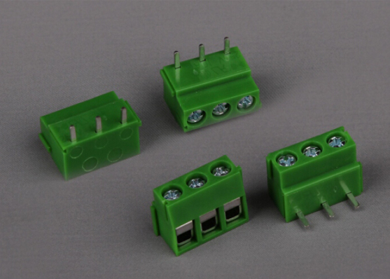 PCB TERMINAL BLOCK(WITH HORIZONTAL SOLDER PIN)